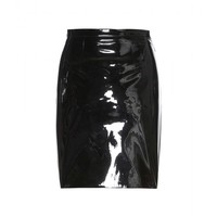 christopher kane - patent leather skirt