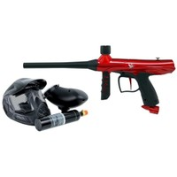 Tippmann Gryphon PowerPack Paintball Gun Kit - Red