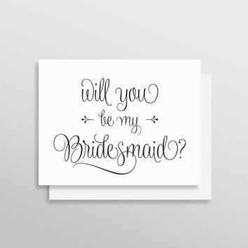 Will You Be My Bridesmaid // Wishes Style