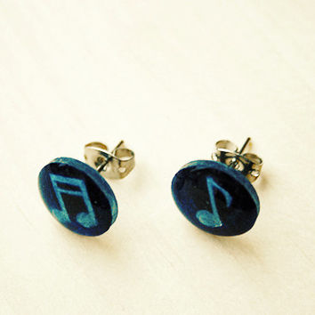 Music Notes | stud earrings