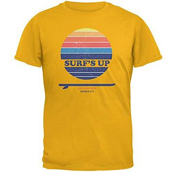 Surf's Up Killer Point Morocco Mens T Shirt