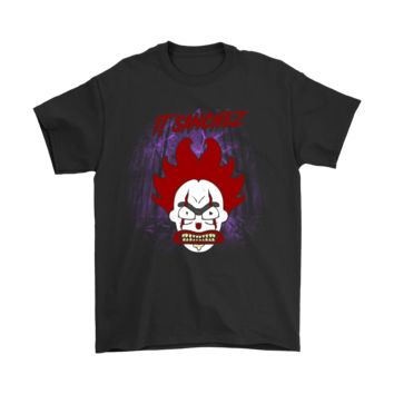 KUYOU Pennywise IT Sanchez Rick And Morty Parody Stephen King Shirts