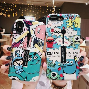 Monsters iPhone Cases for iPhone XS XR XS Max 6 7 8 Plus