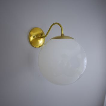 Mid Century Pin Up Wall Sconce