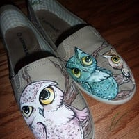 Owls by WalkOriginal on Etsy