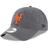 New Era New York Mets Graphite Core 49FORTY Fitted Hat - MLB