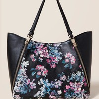 Insly Floral Tote