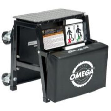 OMEGA 2-N-1 Mechanics Creeper Seat/Step Stool OME91305