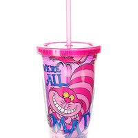 Disney Alice In Wonderland We're All Mad Here Acrylic Travel Cup
