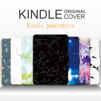 For Amazon Kindle Paperwhite1/2/3 Case  Shell Leather Cover For Kindle Paperwhite Case lighter