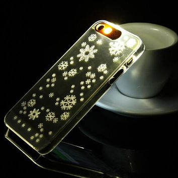 Incoming Call Snow Shining iPhone 5s 6 6s Plus Case Cover Gift 238-170928