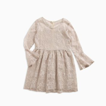 2018 NEW Baby Girls Dress Kids Clothes Tutu Lace Knee-Length Party Princess Dresses Children Clothing Girl Costume 3-12T