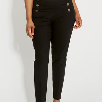 the smart plus size sailor skinny ankle pant | maurices