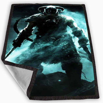 Skyrim Blanket for Kids Blanket, Fleece Blanket Cute and Awesome Blanket for your bedding, Blanket fleece **
