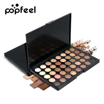 40 Color  Matte Eyeshadow Palette Makeup .Suitable for all skin types. Ultra-fine powder texture, excellent ductility, creating the most Eye Shadow  Glitter Waterproof Lasting