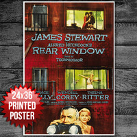 Alfred Hitchcock's Rear Window Movie Poster