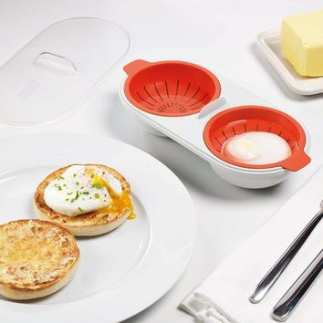 Perfect Poacher - Microwavable Double Egg Poacher