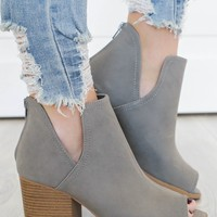 She's Got It Booties - Grey