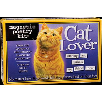 Cat Lover Magnetic Poetry