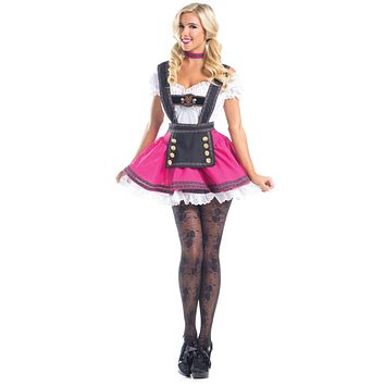 Be Wicked Three Piece Swiss Beauty Costume