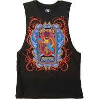 Jimi Hendrix Women's  Electric Ladyland Jr Womens Tank Acid Wash