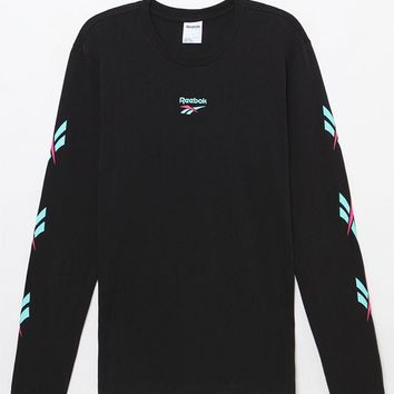Reebok LF Black Long Sleeve T-Shirt at PacSun.com