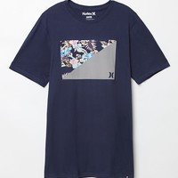 Hurley Port T-Shirt - Mens Tee - Midnight Navy