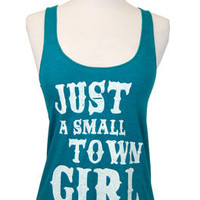 Judith March Small Town Girl Tank :: NEW ARRIVALS :: The Blue Door Boutique