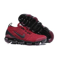 Nike Air VaporMax 2019 Flyknit 3.0 Black Red