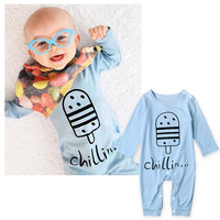 Children Baby Kids Cute Mom's baby Funny One-piece Clothing [9283974276]