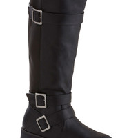 Fiddle Me This Boot in Noir | Mod Retro Vintage Boots | ModCloth.com