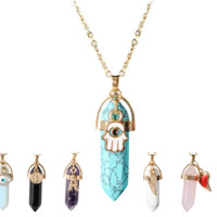 Charmed Quartz Necklace
