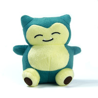 "Pokemon 5.5"" Snorlax Plush Doll"