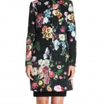 Oil painting coat - MELMEDY - Ted Baker