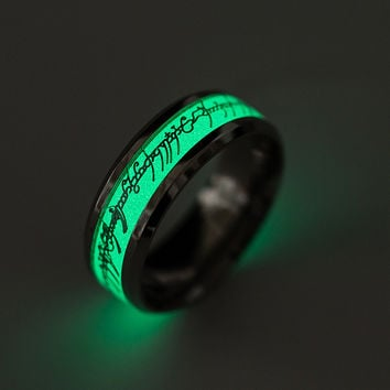 Jewelry Shiny Gift Stylish New Arrival Lightning Birthday Alphabet Ring [10059713539]