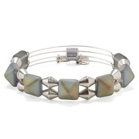 Glacier Impulse Beaded Bangle