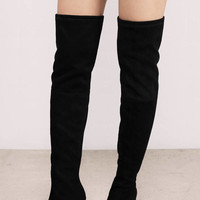 Steve Madden Norri Suede Knee High Boots