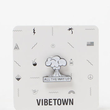 Vibetown All The Way Up Pin at PacSun.com