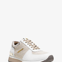 Allie Hemp and Leather Sneaker | Michael Kors