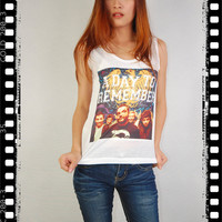 A Day To Remember Album Pop Indie Flok Punk Rock Vintage Women Tank Top Crop Vest T-shirt Size S,M,L