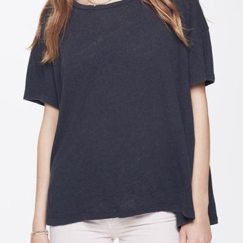 MOTHER | High Sparrow Tee - Faded Black
