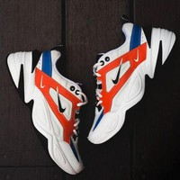 Nike M2K Tekno Orange Blue White Black - Best Deal Online