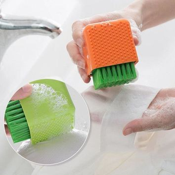 Silicone Dishes Washing Brush Pad Scrubber or Underwear Cleaning Brush Tools