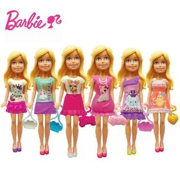 2 Pcs Barbie doll Zodiac And Birthday Series Barbies Baby Toys With Dress Clothes Girls Birthday Gift CMY78
