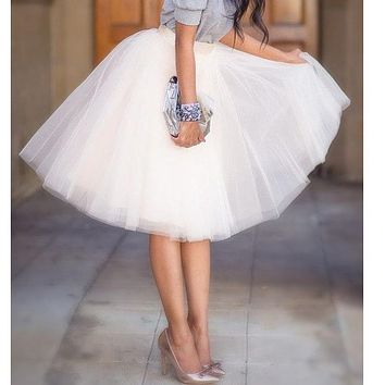 Fashion Tutu Tulle Skirt