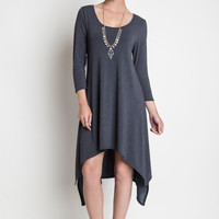 Olympia High Low Knit Dress