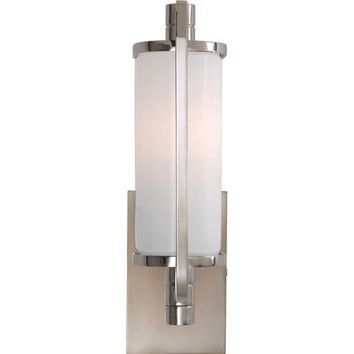 Visual Comfort and Company TOB2030PN-WG Polished Nickel Keeley Pivoting Short Bath Light