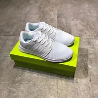"""""""Nike Racer"""" Unisex Sport Casual Breathable Mesh Surface Running Shoes Couple Ultralight Jogging Shoes Solid Color Sneakers"""
