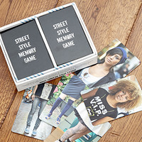 FOREVER 21 Street Style Memory Game White/Black One