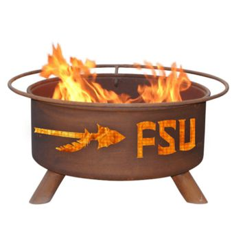 Florida State Steel Fire Pit by Patina Products
